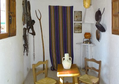 interior barraca