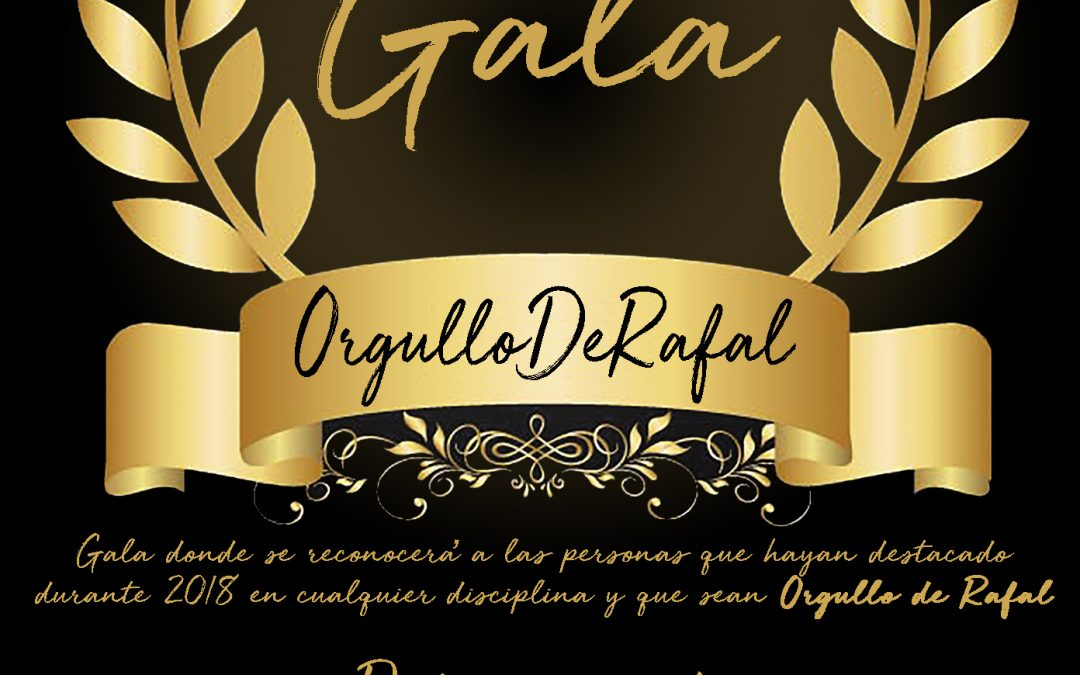 Presentation Candidatures II Gala Pride of Rafal