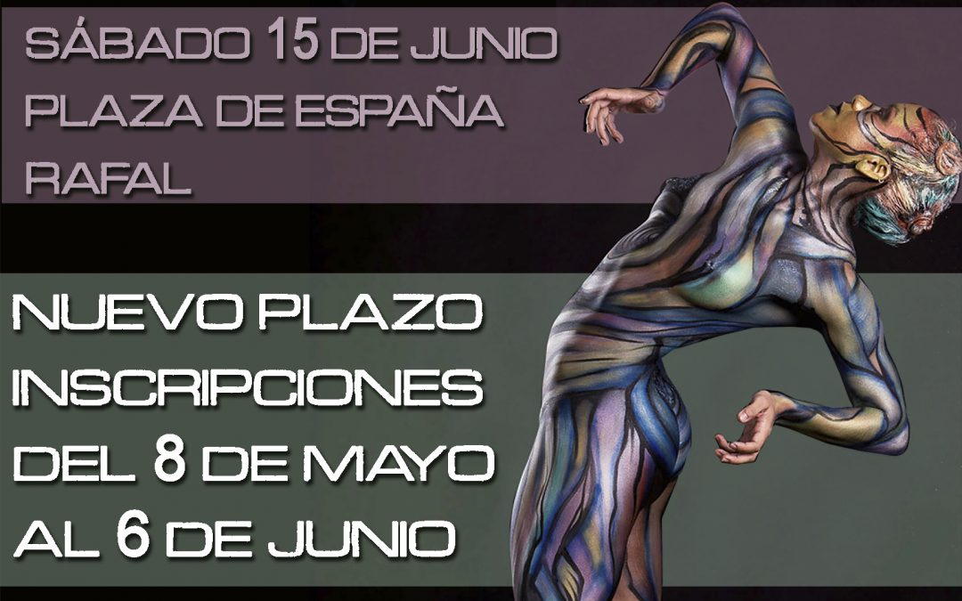 Nueva Convocatoria Concurso Body Painting