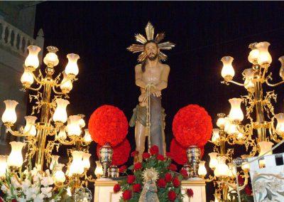 Jesús Flagelado y atado a la columna