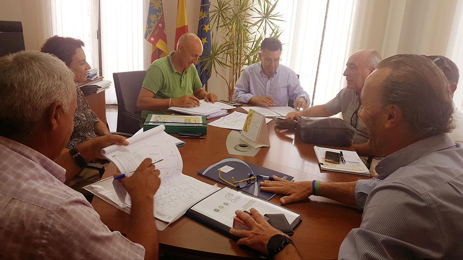 Rafal inicia las obras de ampliación y repavimentación de las aceras de la zona sureste del casco urbano