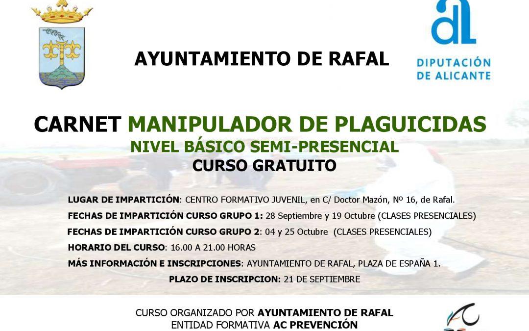 Carnet de Manipulador de Plaguicides