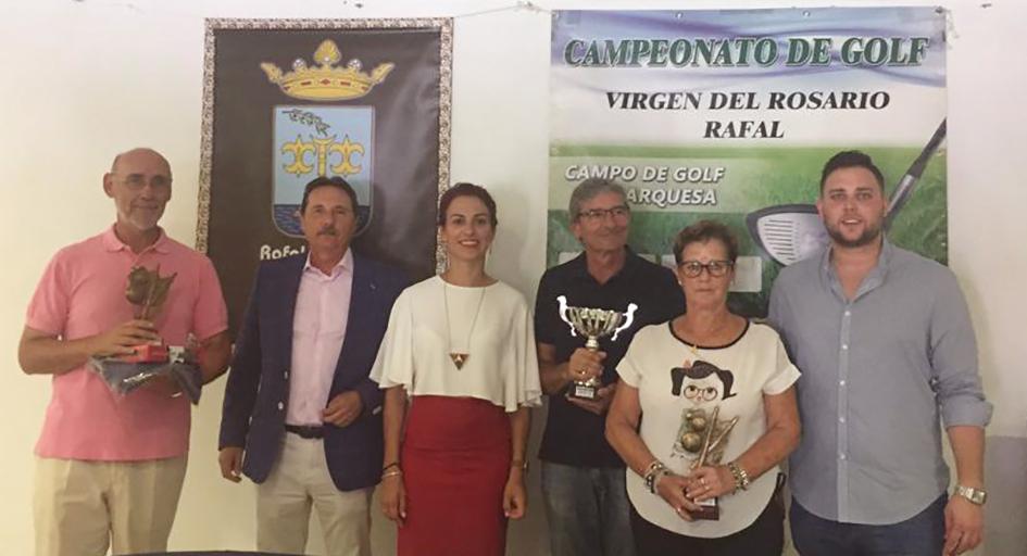 Rafal celebra la XIV edición del Campeonato de Golf 'Virgen del Rosario', un clásico de las fiestas y del circuito de la Vega Baja