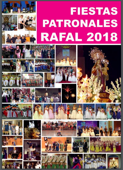 Download the book of the Rafal 2018 Festivities