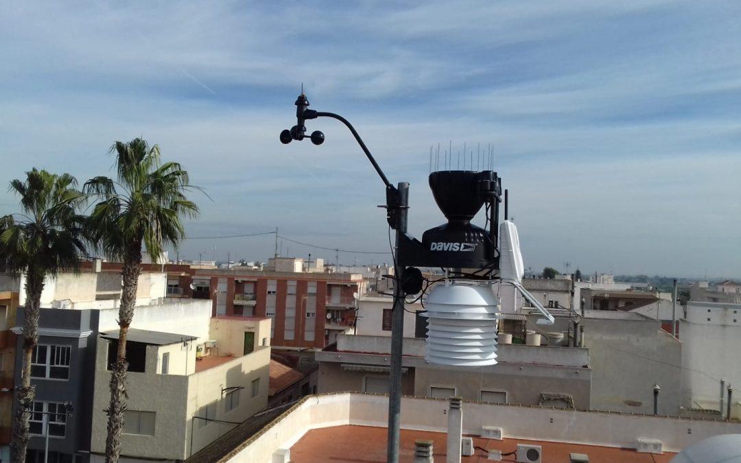 El Ayuntamiento de Rafal instala una estación meteorológica profesional para la recogida de datos