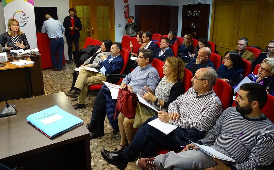 El Fons Valencià de Solidaritat presenta en Rafal su proyecto para fomentar la cooperación en los ayuntamientos de la Vega