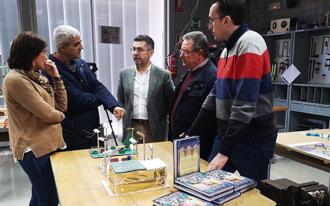 L'Ajuntament de Rafal col·labora amb l'adquisició de material informàtic per a l'institut del municipi