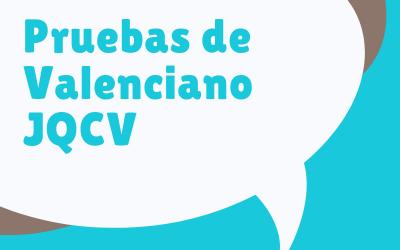 Convocatòria Proves Valencià JQCV