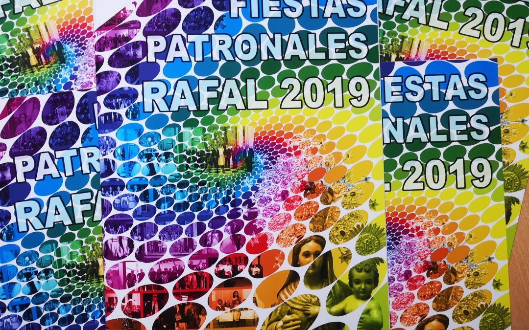 Descarga el libro de las Fiestas Rafal 2019