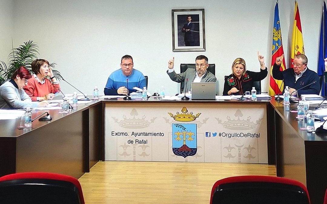Rafal da luz verde al presupuesto de 2020 y se convierte en el primer municipio de la Vega Baja en aprobarlo