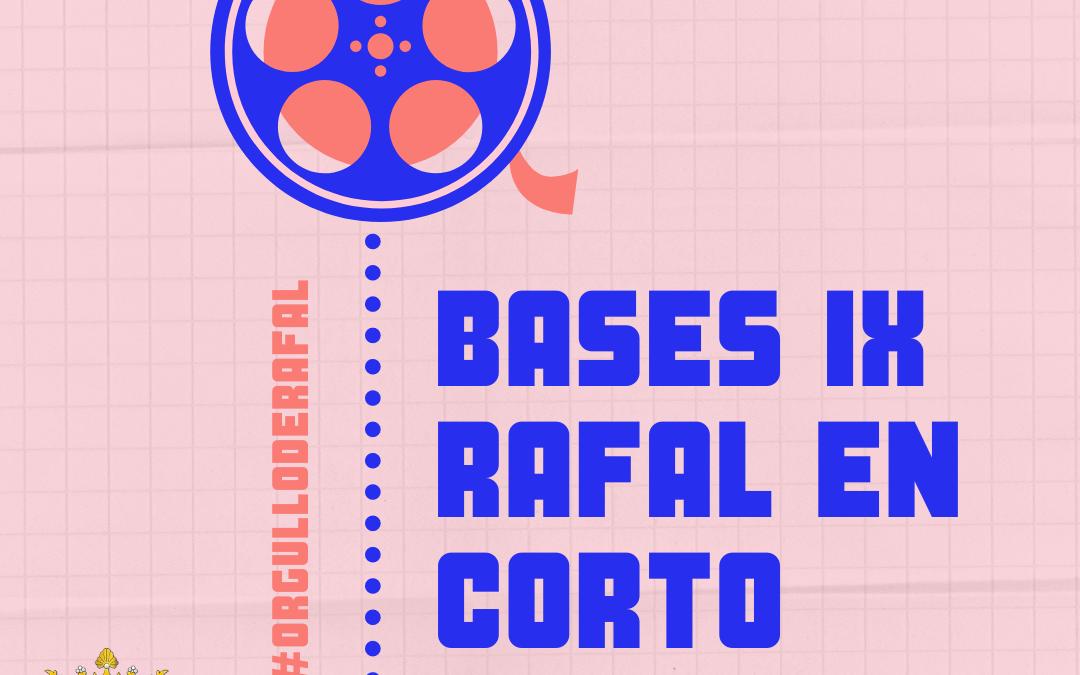 Bases IX edición Rafal en Corto