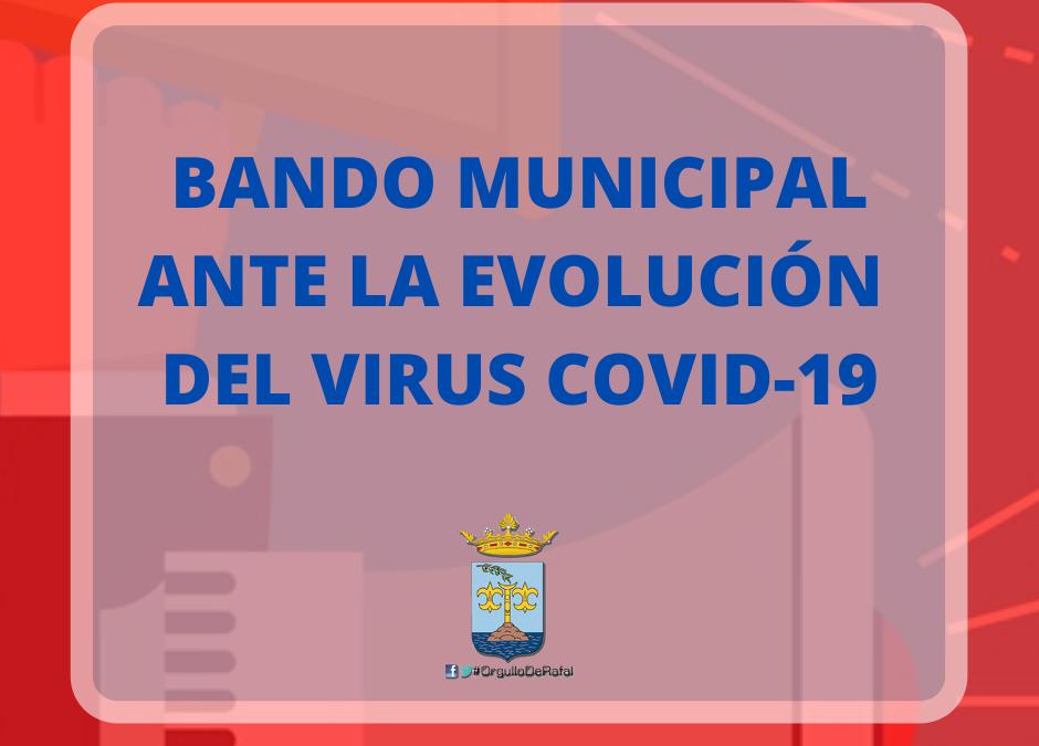 Bando Municipal 13 de Marzo ante la situación por el virus COVID-19