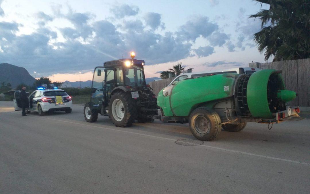 El Ayuntamiento de Rafal desinfecta calles, edificios y zonas públicas como medida preventiva ante el Covid-19
