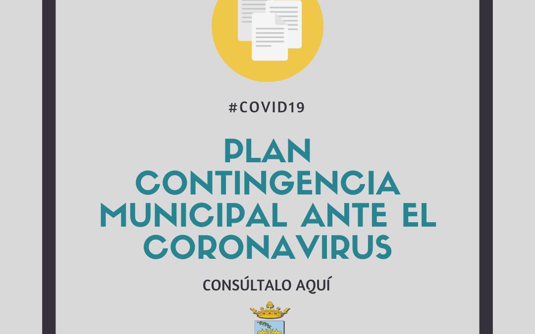 Plan de Contingencia municipal ante la crisis sanitaria provocada por el Covid19