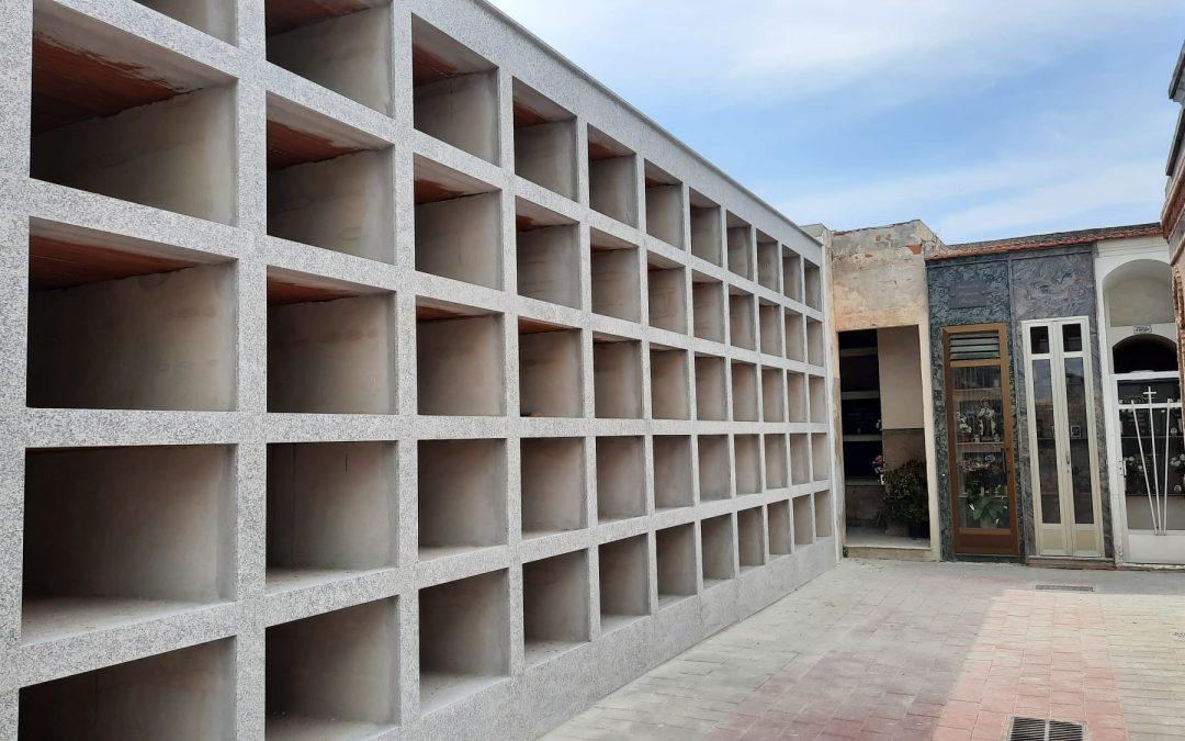 El Ayuntamiento de Rafal amplía la capacidad del cementerio municipal con 55 nuevos nichos