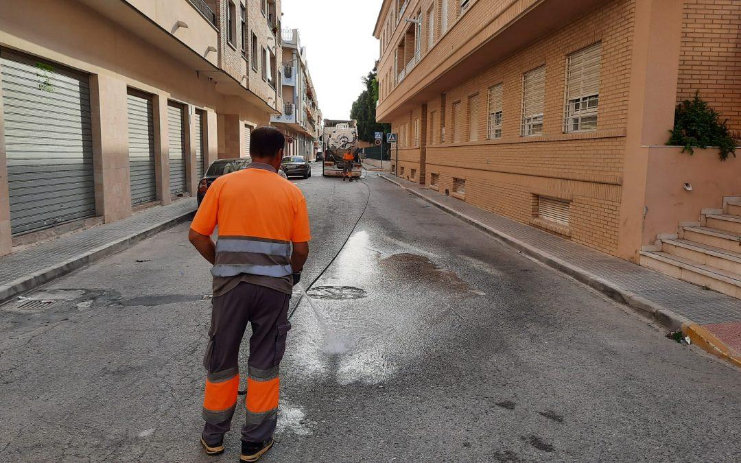 El Ayuntamiento de Rafal inicia las actuaciones para dar solución a los problemas del alcantarillado municipal