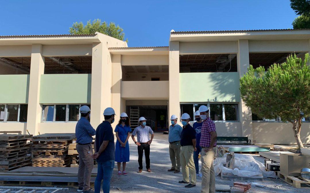 El alumnado de Primaria del CEIP Trinitario Seva de Rafal iniciará el curso en un centro más eficiente y seguro