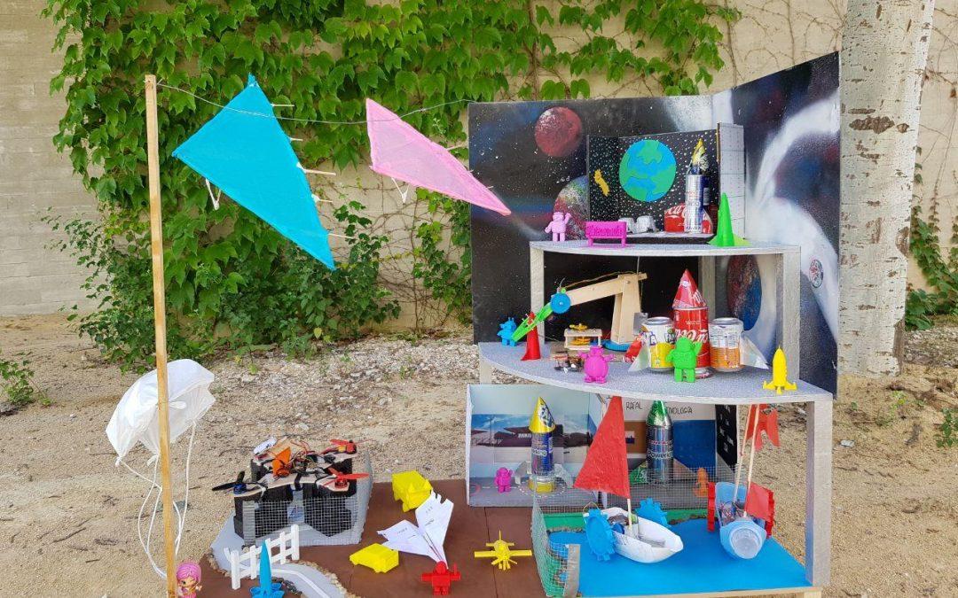 Premian al IES Rafal en la Feria Aérea con un proyecto financiado por el Ayuntamiento