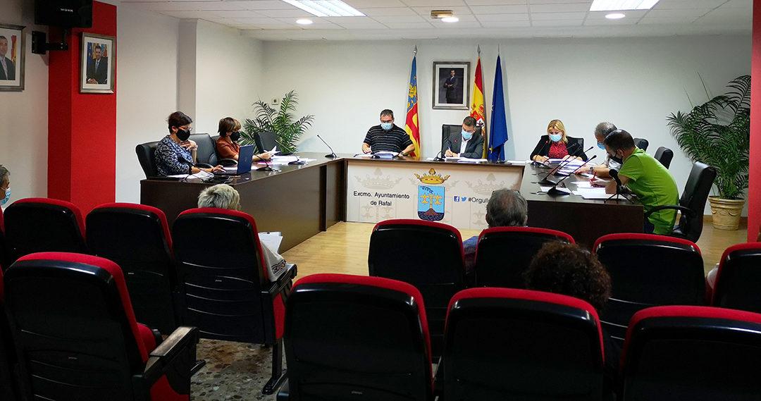 Rafal aprueba crear una comisión requerida por el Instituto Cartográfico Valenciano para saber los límites del municipio