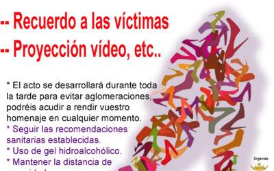 Rafal conmemora el Día Internacional de la Eliminación de la Violencia contra la Mujer con un acto al aire libre y con todas las medidas de prevención del COVID-19