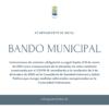 Bando del Ayuntamiento de Rafal con instrucciones de carácter obligatorio a causa del COVID-19