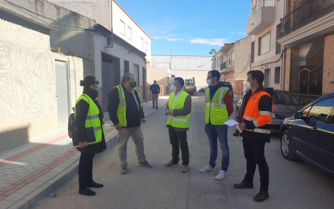 Rafal aprueba suscribir un convenio con Orihuela para canalizar las aguas de la calle Cantalobos a la red municipal