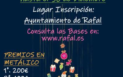 El Ayuntamiento de Rafal convoca el Concurso de Escaparates Navideños del municipio de Rafal