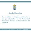 Bando del Ayuntamiento de Rafal con nuevas medidas frente al COVID-19, 14 de enero de 2021