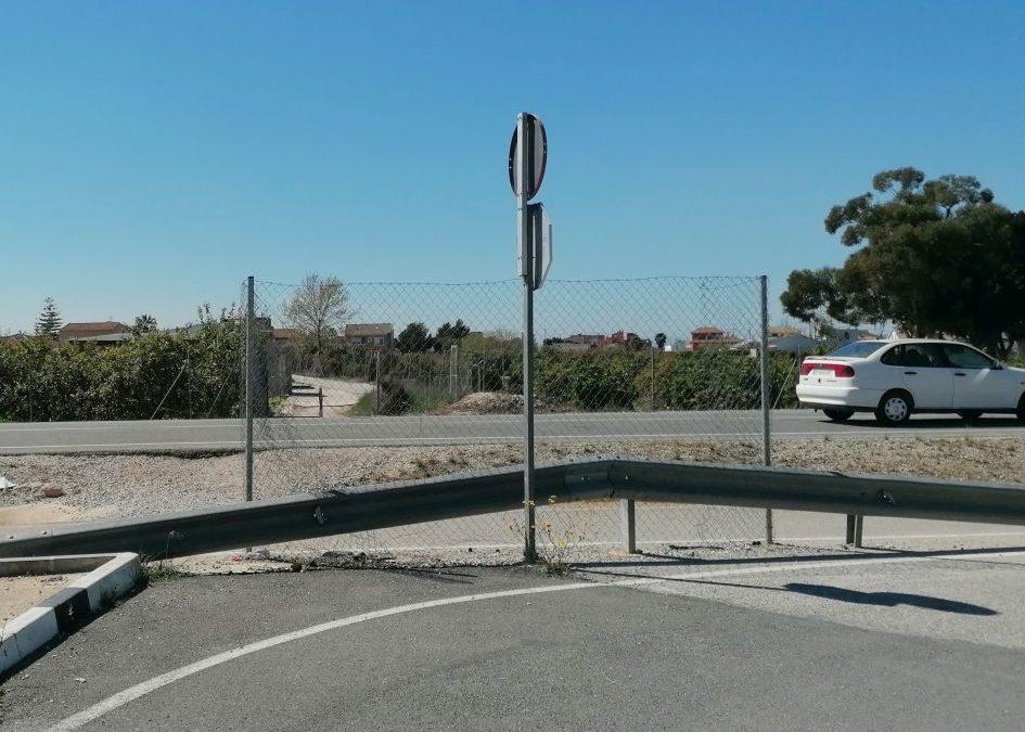 Rafal instará a la Generalitat a que recupere la carretera de conexión con la pedanía oriolana de San Bartolomé