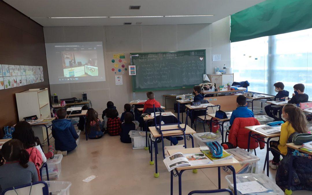 Rafal retoma el proyecto olímpico escolar aplazado por la pandemia con juegos tradicionales y deporte adaptado