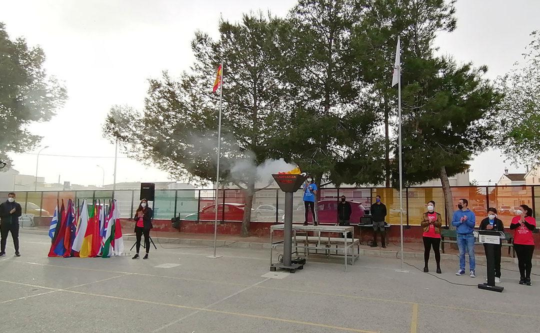 Rafal celebra la ceremonia de apertura y clausura de sus juegos paralímpicos que coinciden este año con las de Tokio