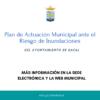 Información Pública del Plan de Actuación Municipal ante el Riesgo de Inundaciones del Ayuntamiento de Rafal