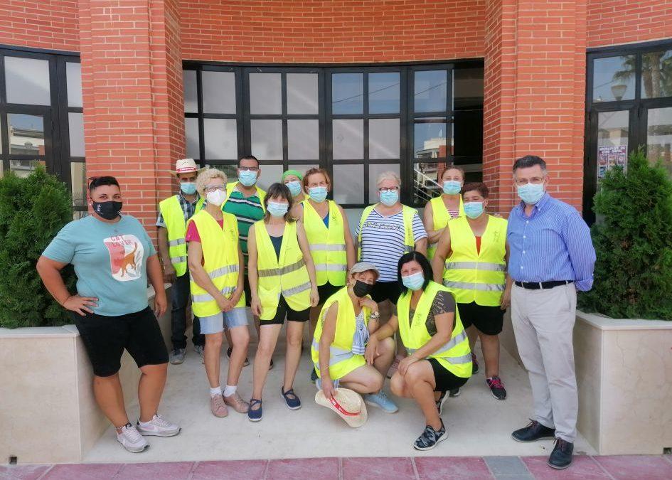 El Ayuntamiento de Rafal contrata a 12 peones agrícolas para limpieza y mantenimiento de zonas verdes y viales