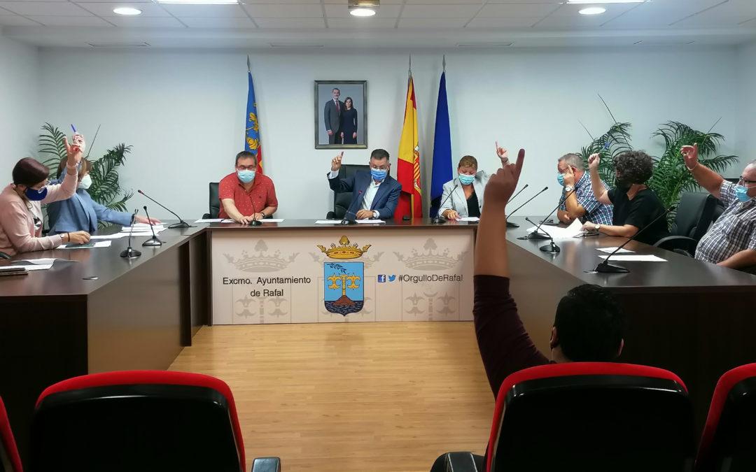 El Pleno de Rafal aprueba por unanimidad solicitar audiencia al Instituto Cartográfico Valenciano para tratar los límites municipales con Orihuela